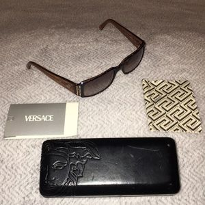 Authentic Versace Medusa Sunglasses